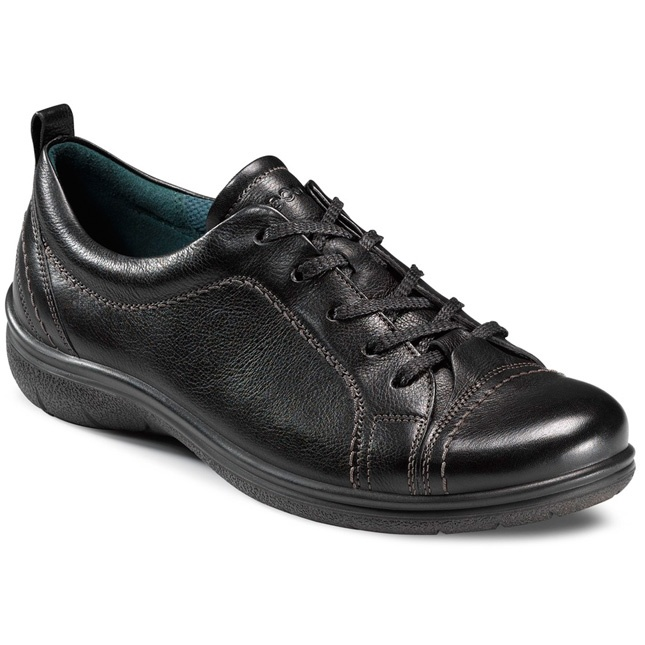 Black Earth Ladies Lace Up Leather Shoes, Debenhams. Find this Pin and more  on Ecco ...