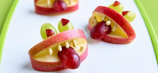 Delhaize - Appelmonsters met druiven