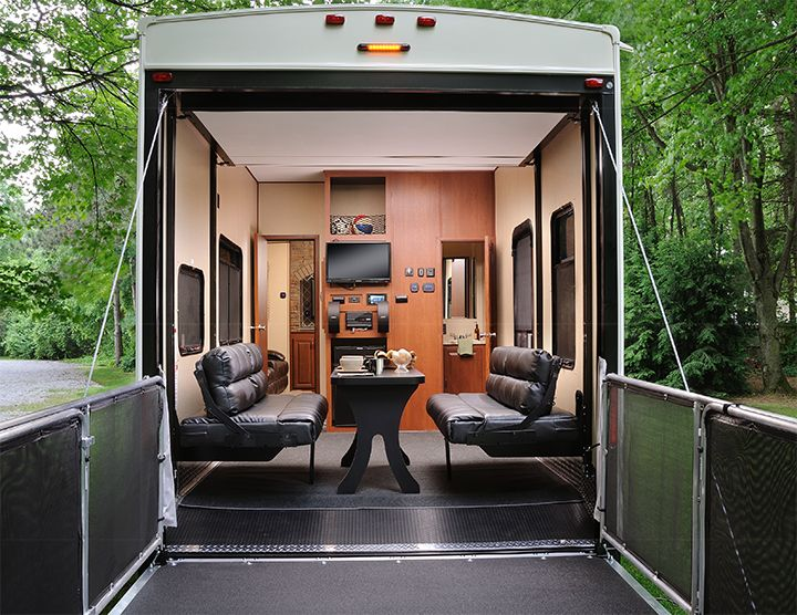 1000 images about trailer y casas rodantes on pinterest for 2 bathroom 5th wheel