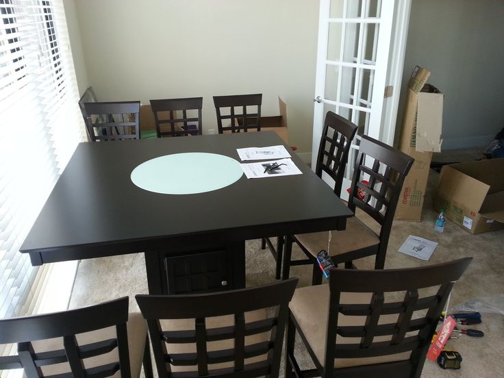 Dining Table Assembled In Baltimore MD By Any Assembly