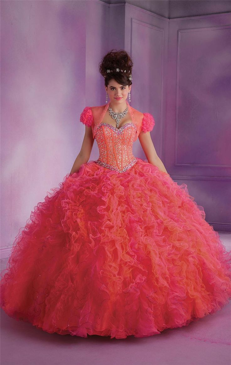 2015 New Design Ruffled Quinceanera Dresses Gowns Masquerade Ball Gowns Sweet 16 Princess Dresses 15 Birthday Party Dresses