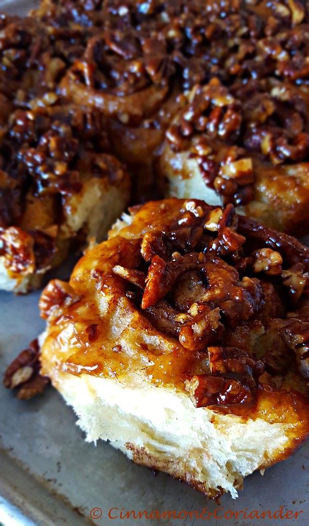 World´s Best Caramel Sticky Buns - Cinnamon&Coriander