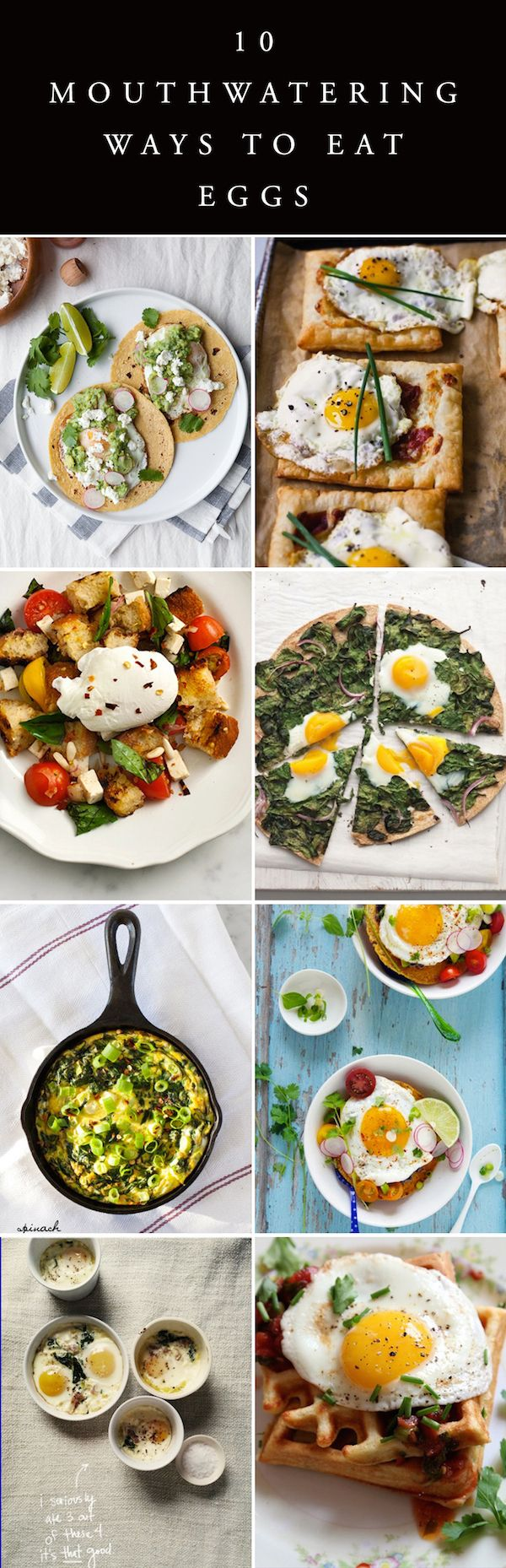 10 great egg recipes