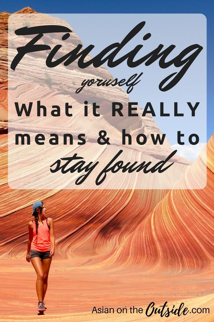 What does it mean to find yourself in this life