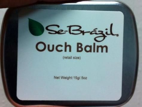 New Se-Brazil Ouch Balm (retail size .5oz)