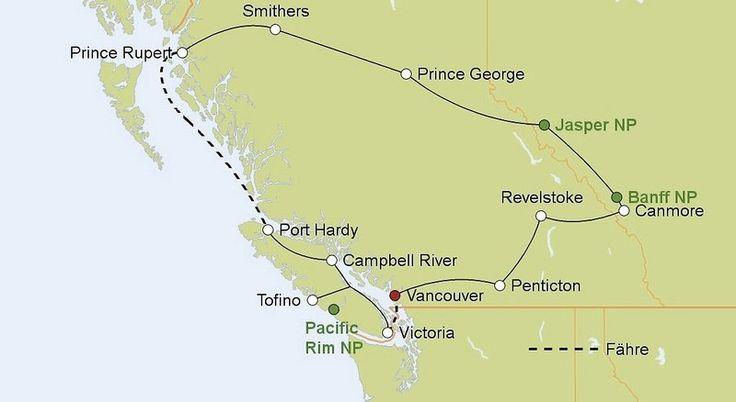 Rundreise Klassisches Westkanada Mittelklasse - Vancouver - buchen bei DERTOUR