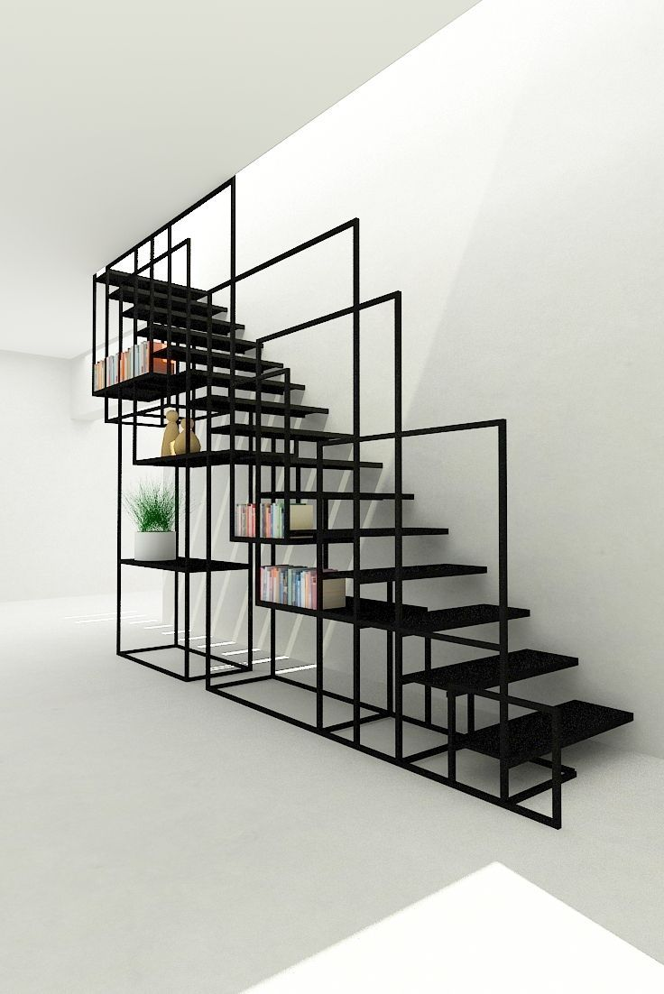 Awesome Box Section Staircase By Design+Weld More