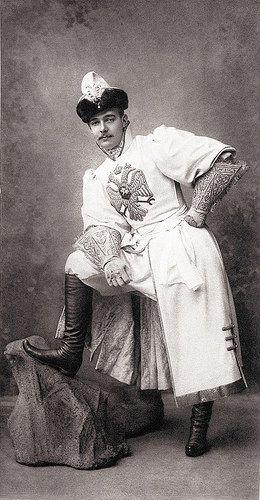 Его Императорское Высочество Великiй Князь Андрей   Владимiровичъ (Сокольничiй въ праздничномъ одѣянiи) | Flickr - Photo Sharing!