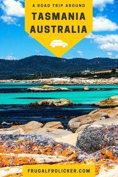 A Tasmania Road Trip. #travel #australia #tasmania / / / / / Check out more travel photos and blog posts on my travel blog, frugalfrolicker.com