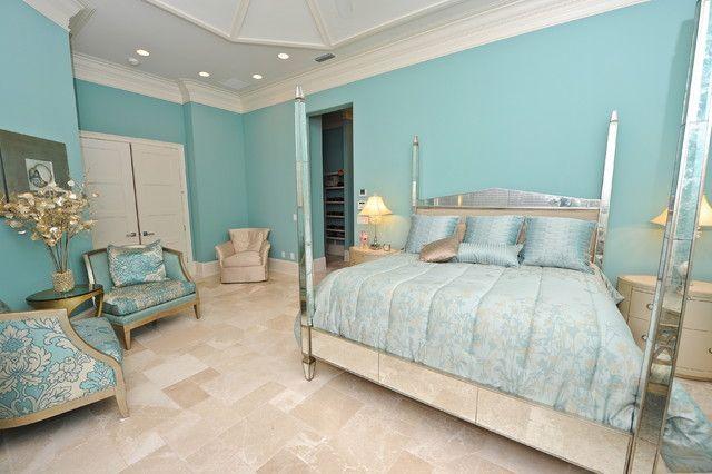 Best 25+ Aqua Blue Bedrooms Ideas On Pinterest