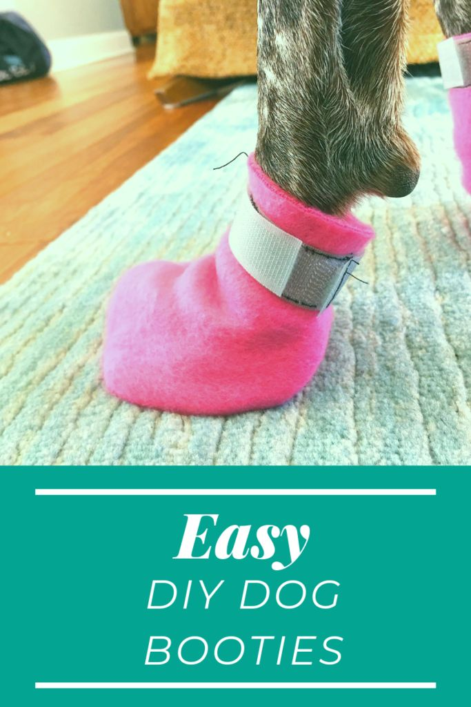 Einfache DIY Dog Booties »Joys Outside