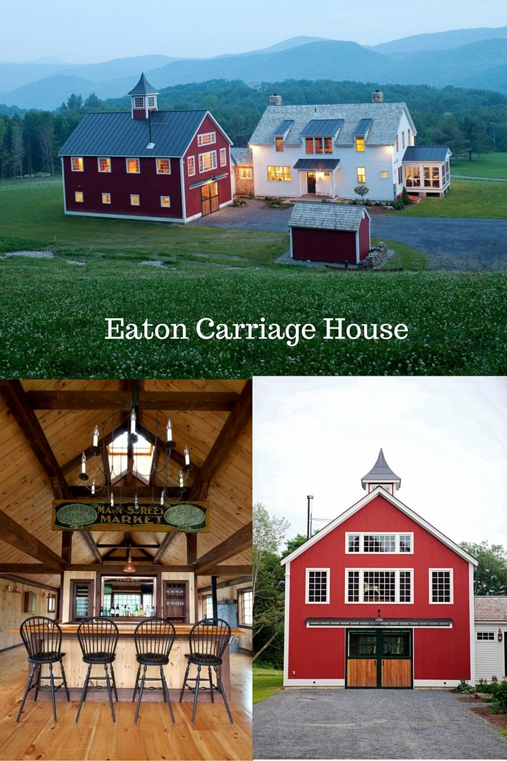 Eaton carriage house small houses post and beam and squares for Carriage house barn