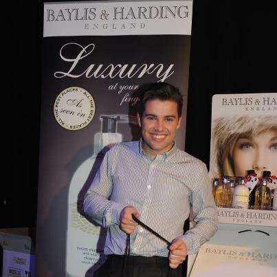 Thank you all for an amazing evening...check out this photo of Joe McElderry enjoying our products at the Prima High Street Fashion Awards.