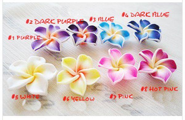 Бесплатная доставка несколько цветов Гавайская Плюмерия цветок браслет, мода…