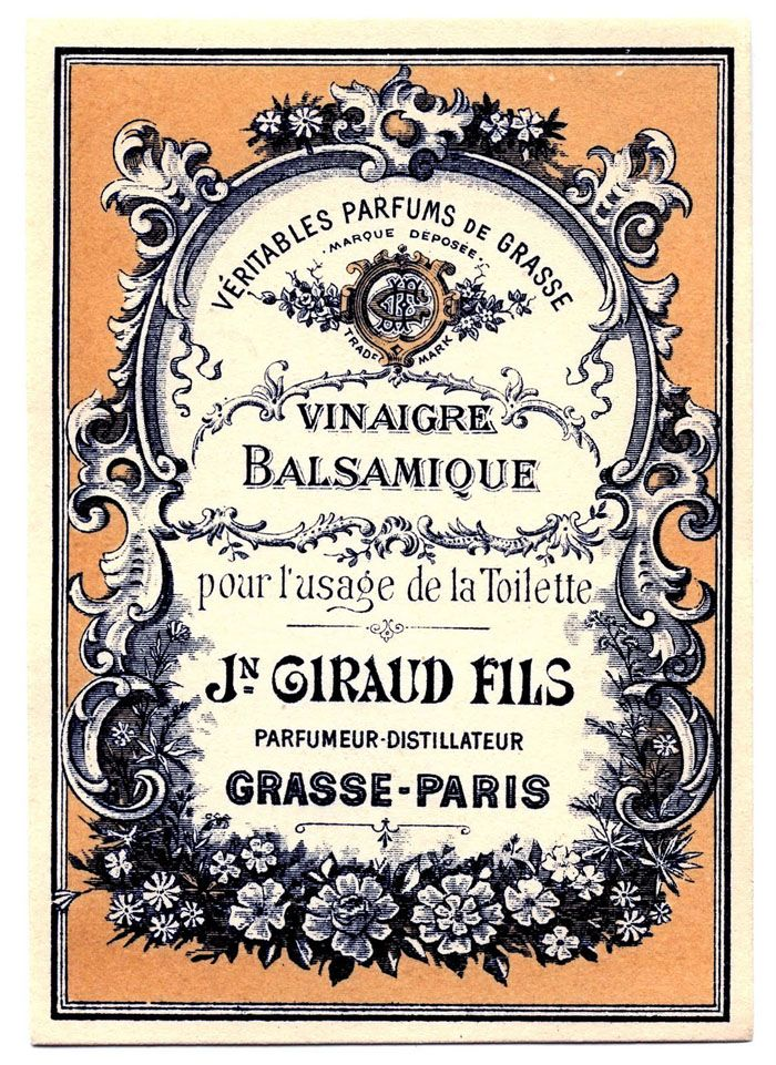 vintage packaging label- how pretty would this be on an invitation?