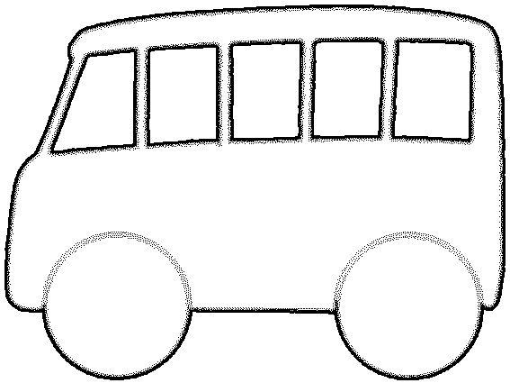 Mal van een bus