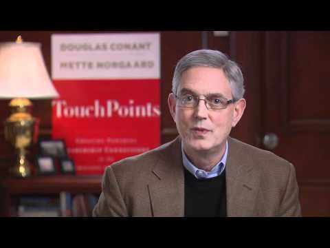 An introduction to New York Times Bestseller TouchPoints: Creating Powerful Leadership Connections in the Smallest of Moments by Douglas Conant (Jossey-Bass)