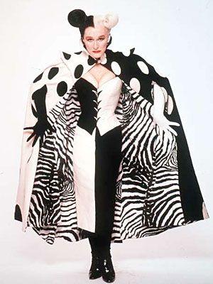 Cruella DeVil in 102 Dalmatians -- Costume Designer Anthony Powell