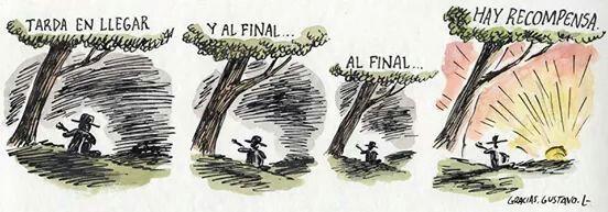 Homenaje de Liniers a Gustavo Cerati.