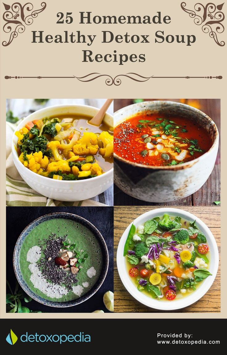 A Curated List of 25 Homemade Detox Soup Recipes