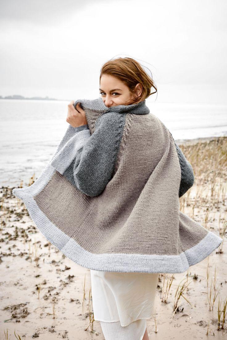 Strickanleitung: Diesen Cardigan kannst du dir selbst stricken
