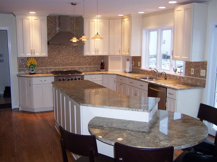 Best 20+ Round Kitchen Island Ideas On Pinterest | Large Granite Kitchen  Counters, Sink In Island And Large Marble Kitchen Counters Part 97
