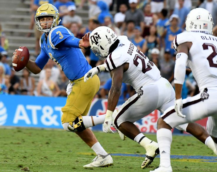 Watch: Josh Rosen didn't complete his comeback against Texas A&M last year. The quarterback didn't miss out on another chance.