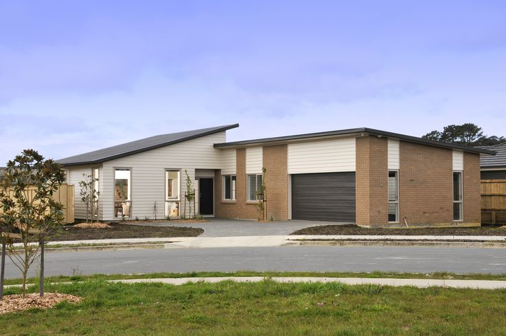 Attractive brick and weatherboard home