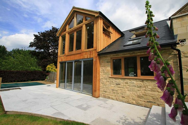 Extension ideas, extension inspiration. wood frame extension, wooden frame extension, oak frame extension, oak frame extension, oak framed extension.