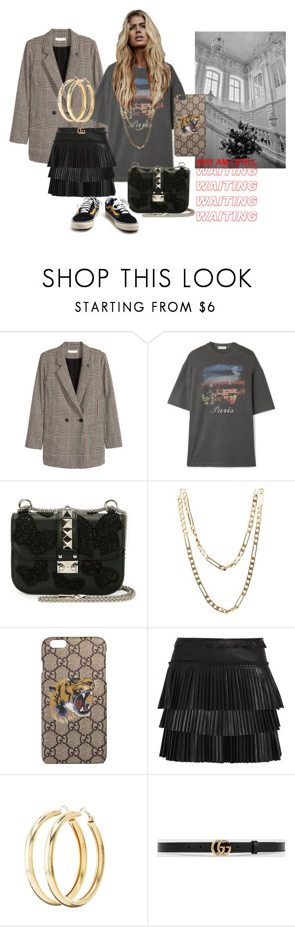 """Untitled #243"" by fashiondisguise on Polyvore featuring Jakke, Balenciaga, Valentino, Cartier, Gucci, Isabel Marant, Charlotte Russe and Vans"