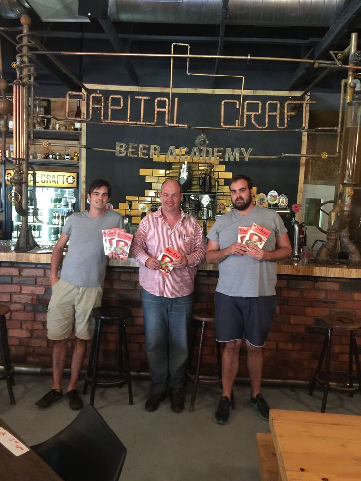 Leading the Craft Beer Revolution in Pretoria is Capital Craft Academy in Menlo Park.  Holger and The Beer Book pay a visit.