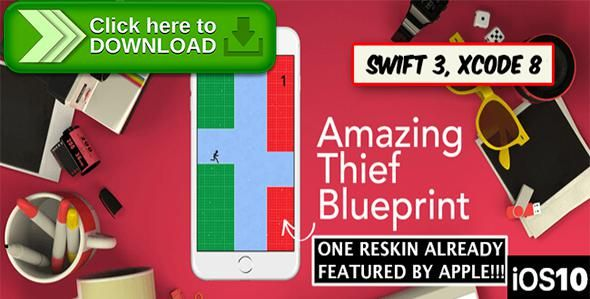 [ThemeForest]Free nulled download Amazing Thief Blueprint  – One Hour Reskin, IOS 10, Swift 3 Ready from http://zippyfile.download/f.php?id=38102 Tags: ecommerce, addicting, admob, app template, best code, cheap, fastest reskin, in app purchases, iOS 10, ipad pro, iphone7, iphone7 plus, level system, no ads, rebeloper, swift3