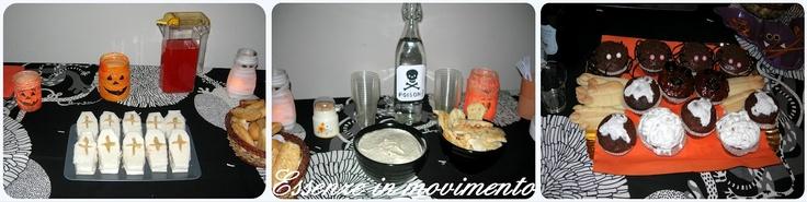 festa e cibo perr la festa di halloween by Essenze in movimento: Decorazioni Halloween