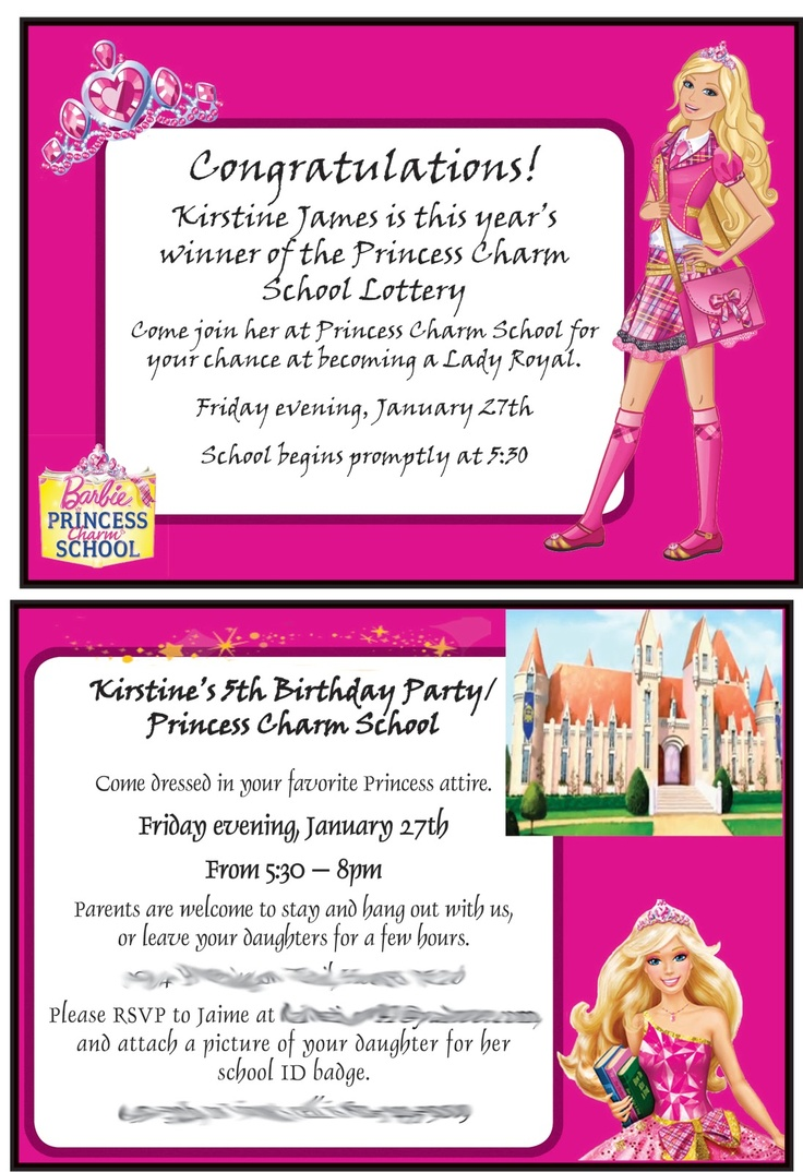 10 Best Images About Sarah 7th Birthday Barbie Princess
