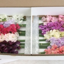 40 stems £32.95 from  mid may to end of July!!...bridesmaids dress colours