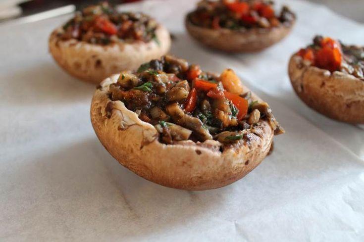 Fyldte svampe – portobello