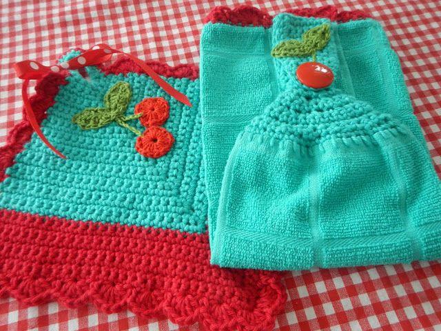Más de 1000 imágenes sobre crochet para cocina en pinterest ...