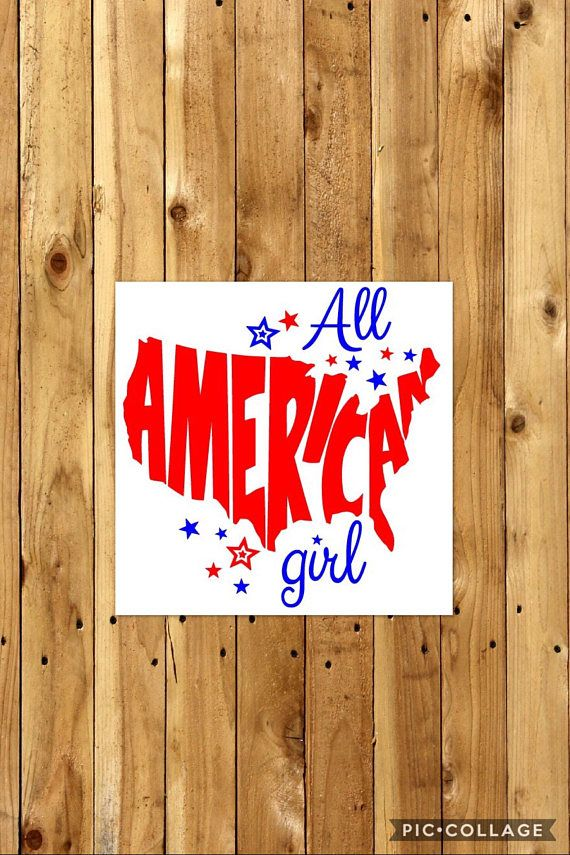 All American Girl or Boy // America // 4th of July Shirt //
