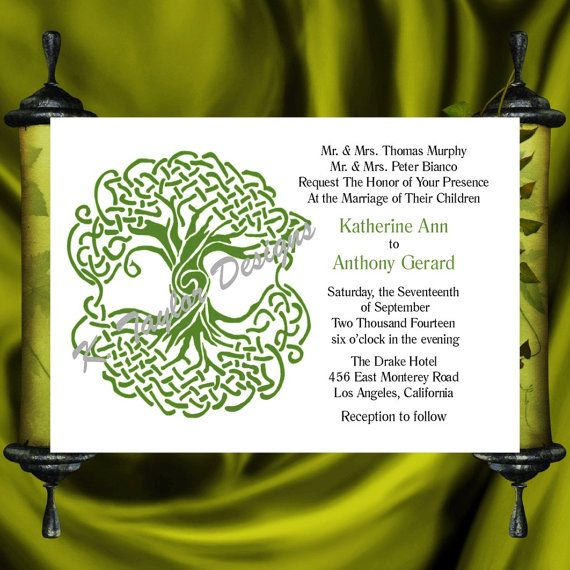 28 Best Medieval Wedding Invitations Images On Pinterest: 17 Best Images About Celtic Wedding Invitations I Love :