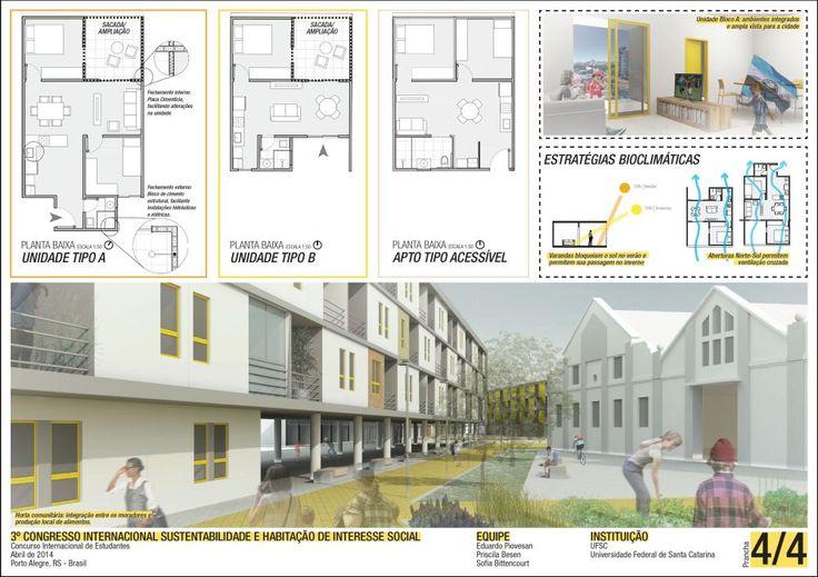 Concurso de Estudantes – Sustentabilidade e Habitação de Interesse Social – CHIS 2014 | concursosdeprojeto.org