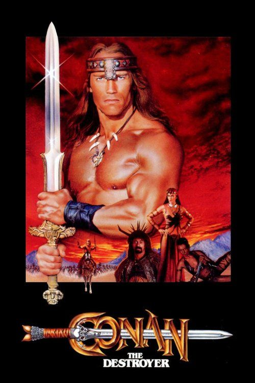 Watch Conan the Destroyer (1984) Full Movie Online Free