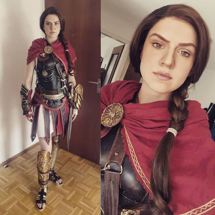 Assassin S Creed Kassandra Cosplay By Skunk Weasel Assassins Creed Cosplay Assassins Creed Cosplay Woman