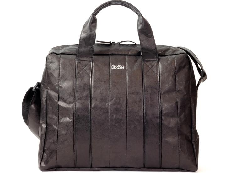 Lexon'dan doğa dostu, su geçirmez ve dayanıklı Tyvek kumaştan evrak, notebook/netbook çantası, Air Large Document Bag by Promart-Promotion