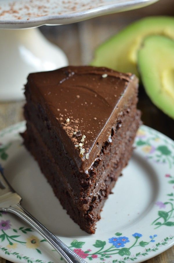 Fudgy Chocolate Beet Cake with Chocolate Avocado Frosting (GF)