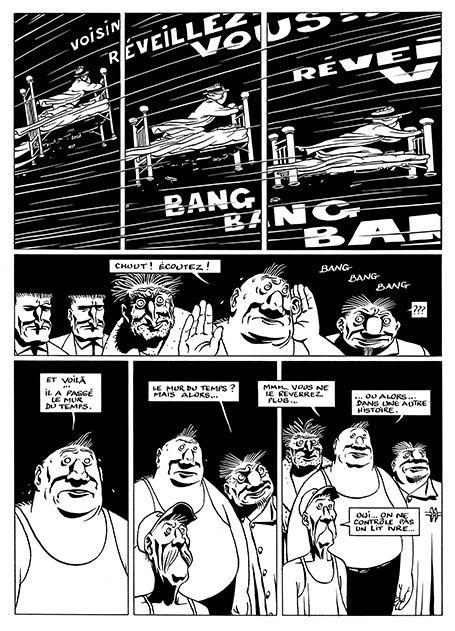 """BD : """"Le Décalage"""", de Marc-Antoine Mathieu ou la poétique de l'absurde - Livres - Télérama.fr"""