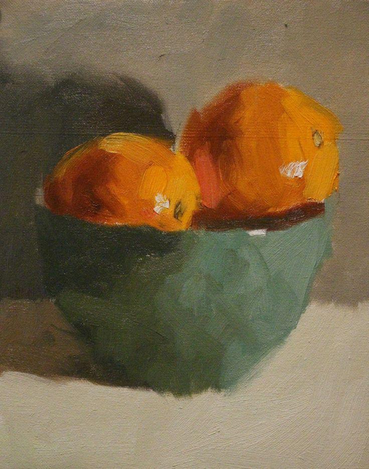 Bowl of Oranges - By Steven Szczebiot