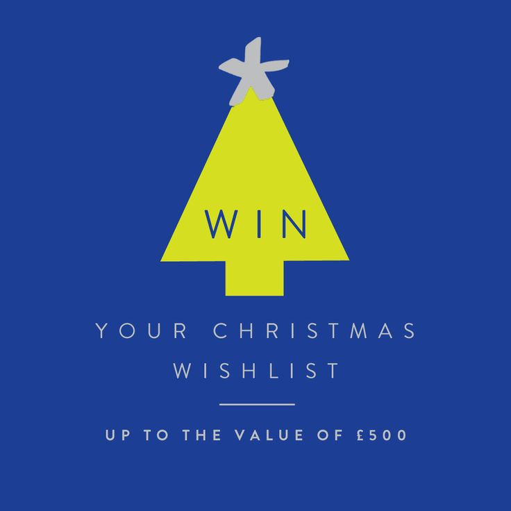 "We are giving you the chance to WIN your Christmas Wishlist from Joules up to the value of £500. To enter simply create a ""Joules Christmas Wish List"" board and pin your favourite pieces from Joules. Then finally fill out your details here for a chance to win! > http://bit.ly/1Py3SEa"