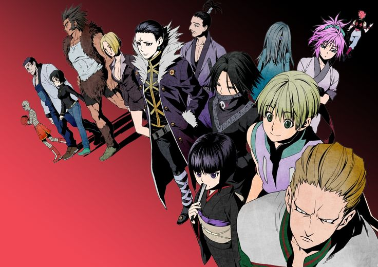 Hunter X Hunter Phantom Troupe 12 best images about G...