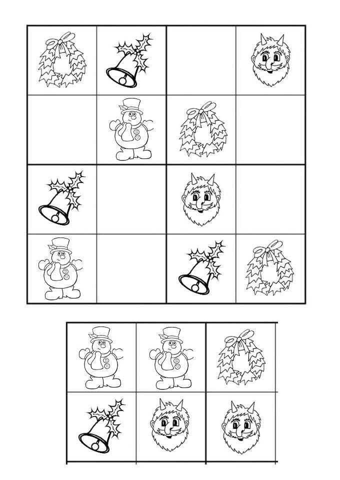 Sudoku - Vánoce