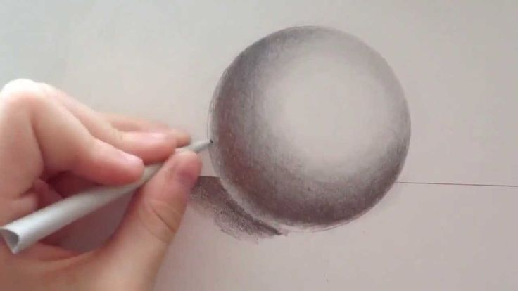 How to Draw a Realistic Sphere with Pencil